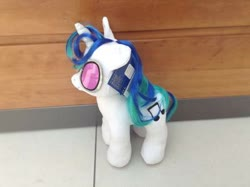 Size: 400x299 | Tagged: safe, artist:matthewbro1, dj pon-3, vinyl scratch, pony, unicorn, build-a-bear, photo, plushie, solo