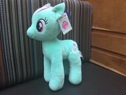 Size: 960x720 | Tagged: safe, artist:matthewbro1, minty, earth pony, pony, build-a-bear, photo, plushie, solo