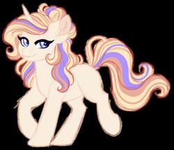 Size: 1024x881   Tagged: safe, artist:azure-art-wave, oc, oc only, pony, unicorn, female, mare, offspring, parent:prince blueblood, parent:starlight glimmer, simple background, solo, transparent background
