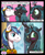 Size: 650x792 | Tagged: safe, artist:empressbridle, queen chrysalis, shining armor, changeling, changeling queen, equestria changed, alternate universe, blushing, comic, explicit description, eyes closed, female, kissing, love, male, shining chrysalis, shipping, smiling, stallion, straight