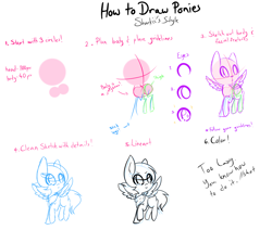 Size: 1024x868 | Tagged: safe, artist:14th-crown, oc, oc only, pegasus, pony, how to draw, lineart, neckerchief, pegasus oc, raised hoof, text, tutorial, wings