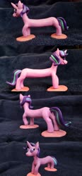 Size: 4032x8696 | Tagged: safe, artist:crosslineanimator, starlight glimmer, clay, long glimmer, long starlight, plasticine