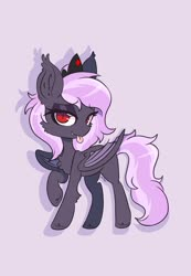 Size: 1900x2740 | Tagged: safe, artist:epic_gamerhorse, oc, oc:sak, bat pony, vampire, vampony, bat pony oc, bat wings, crown, cute, female, jewelry, looking at you, mare, mlem, regalia, silly, tongue out, wings