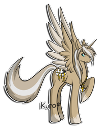 Size: 400x500 | Tagged: safe, artist:gazecreative, oc, oc only, alicorn, pony, alicorn oc, colored hooves, horn, jewelry, necklace, paw prints, raised hoof, simple background, solo, transparent background, wings