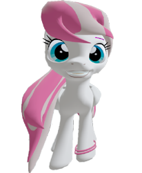 Size: 593x720 | Tagged: safe, artist:topsangtheman, angel wings, pegasus, pony, 3d, grin, looking at you, simple background, smiling, solo, source filmmaker, transparent background