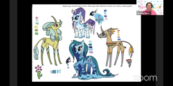 Size: 1440x720 | Tagged: safe, artist:andypriceart, idw, cactus rose, crystal (character), dust devil (comic), medley brook, abada, human, kelpie, spoiler:comic, spoiler:comic89, spoiler:comicseason10, babscon, irl, irl human, photo, season 10