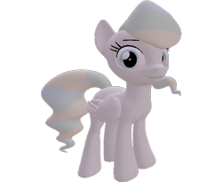 Size: 880x720 | Tagged: safe, artist:topsangtheman, vapor trail, pegasus, pony, 3d, simple background, solo, source filmmaker, transparent background
