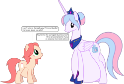 Size: 5866x4000 | Tagged: safe, artist:parclytaxel, oc, oc only, oc:bundle joy, oc:epona serena, alicorn, earth pony, pony, .svg available, absurd resolution, alicornified, clothes, crown, female, hair bun, hairband, hyper, hyper belly, hyper pregnancy, impossibly large belly, jewelry, looking down, looking up, mare, older, peytral, pregnant, race swap, regalia, shoes, simple background, speech bubble, transparent background, vector