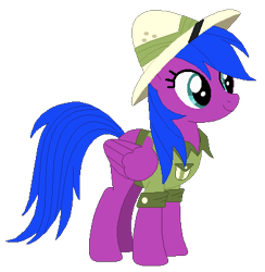 Size: 392x401   Tagged: safe, artist:optimusv42, daring do, firefly, rainbow dash, pegasus, pony, clothes, cosplay, costume, cousin, fan version, friendship troopers, my little pony friendship troopers, rainbow dash's family