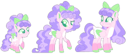 Size: 1020x440 | Tagged: safe, artist:kurosawakuro, artist:strawberry-spritz, oc, oc only, pegasus, pony, age progression, base used, female, filly, magical lesbian spawn, mare, offspring, parent:cozy glow, parent:diamond tiara, parents:cozytiara, simple background, solo, transparent background, two toned wings, wings