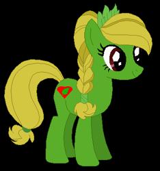Size: 383x410 | Tagged: safe, artist:optimusv42, oc, oc:jungle heart, crystal pony, earth pony, gorilla, pony, friendship troopers, jungle pony, my little pony friendship troopers, simple background, tarzan, transparent background
