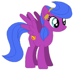 Size: 426x408 | Tagged: safe, artist:optimusv42, firefly, crystal pony, pegasus, pony, my little pony 'n friends, cousin, fan version, friendship troopers, g1, my little pony friendship troopers, rainbow dash's family, simple background, transparent background