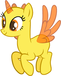 Size: 952x1191 | Tagged: safe, artist:pegasski, alicorn, equestria games (episode), bald, base, eyelashes, horn, simple background, smiling, solo, transparent background, wings