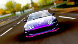Size: 1920x1080 | Tagged: safe, twilight sparkle, car, forza horizon, forza horizon 4, game, itasha, screenshots, street race, toyota, toyota supra, xbox one