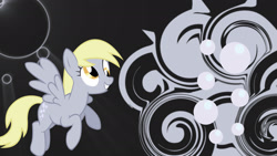 Size: 1920x1080 | Tagged: artist needed, safe, derpy hooves, pegasus, pony, female, mare, wallpaper