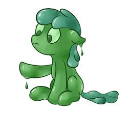 Size: 1000x896 | Tagged: safe, artist:ahorseofcourse, oc, oc only, goo, goo pony, original species, solo