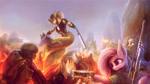 Size: 2500x1406 | Tagged: safe, artist:stdeadra, earth pony, pony, dune, gun, mountain, rifle, viper, weapon, x-com, xcom 2