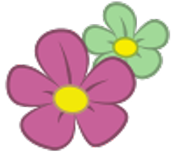 Size: 100x88 | Tagged: safe, artist:beckiergb, blossomforth, .svg available, cutie mark, cutie mark only, flower, no pony, simple background, svg, transparent background, vector