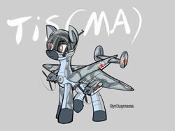 Size: 1200x900 | Tagged: safe, artist:смуглнка, oc, oc only, original species, plane pony, pony, plane, ponified, solo, soviet, tis ma