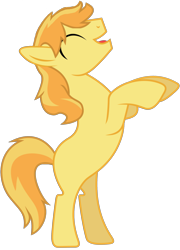 Size: 2249x3129 | Tagged: safe, edit, vector edit, braeburn, earth pony, pony, missing accessory, missing cutie mark, rearing, simple background, transparent background, vector