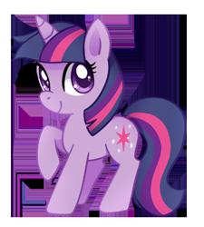Size: 355x395 | Tagged: safe, artist:tsurime, twilight sparkle, pony, unicorn, chibi, cute, female, mare, simple background, solo, transparent background, twiabetes, unicorn twilight