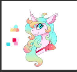 Size: 405x376 | Tagged: artist needed, source needed, safe, oc, oc:heart swarm, changedling, changeling, changeling princess, reformed