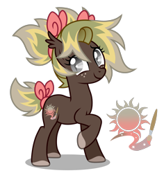 Size: 3300x3500 | Tagged: safe, alternate version, artist:oyks, oc, oc only, unnamed oc, bat pony, pony, bat pony oc, bat wings, bow, colored hooves, ear fluff, female, freckles, hair bow, looking at you, mare, multicolored hair, raised hoof, simple background, smiling, solo, tail bow, tail wrap, transparent background, wings