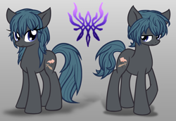 Size: 1600x1100 | Tagged: safe, artist:geraritydevillefort, earth pony, pony, byleth, female, fire emblem, fire emblem: three houses, male, mare, ponified, rule 63, self ponidox, stallion