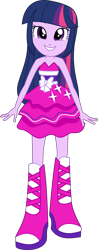 Size: 4033x10272 | Tagged: safe, artist:firesidearmy46231, twilight sparkle, equestria girls, equestria girls (movie), bare shoulders, cute, fall formal outfits, simple background, sleeveless, smiling, solo, strapless, transparent background, twiabetes, twilight ball dress, twilight sparkle (alicorn), vector