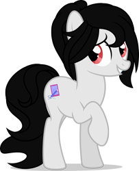 Size: 2000x2461 | Tagged: safe, artist:luckreza8, earth pony, pony, happy, kak ros, ponified, simple background, solo, transparent background, upin and ipin, vector
