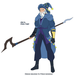 Size: 1920x1961 | Tagged: safe, artist:pyrus-leonidas, star swirl the bearded, human, series:mortal kombat:defenders of equestria, beard, boots, clothes, crossover, facial hair, fingerless gloves, gandalf, gloves, hat, humanized, lord of the rings, male, mortal kombat, pants, robe, shoes, simple background, solo, staff, the hobbit, transparent background, wizard, wizard hat