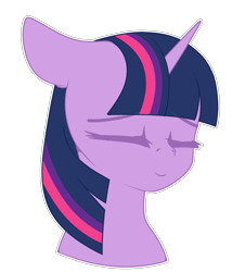 Size: 2148x2372   Tagged: safe, artist:xcinnamon-twistx, twilight sparkle, alicorn, bust, cute, eyes closed, high res, portrait, simple background, smiling, solo, transparent background, twiabetes, twilight sparkle (alicorn)