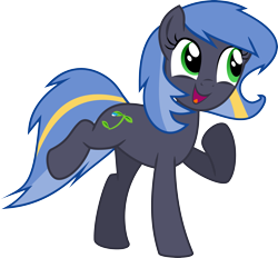 Size: 3497x3246 | Tagged: safe, artist:nero-narmeril, oc, oc:rain dancer, earth pony, pony, female, mare, simple background, solo, transparent background, vector