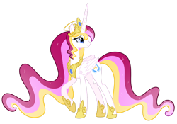 Size: 1280x896 | Tagged: safe, artist:helenosprime, oc, oc:aureola, alicorn, pony, crown, female, jewelry, mare, regalia, simple background, solo, transparent background