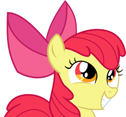 Size: 3805x3509 | Tagged: safe, artist:nero-narmeril, apple bloom, pony, somepony to watch over me, high res, simple background, solo, transparent background, vector