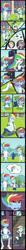 Size: 3267x32000 | Tagged: safe, artist:urhangrzerg, aria blaze, rainbow dash, equestria girls, accidental exposure, comic, football, male, rainbow blitz, rule 63, sports