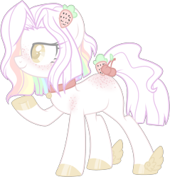 Size: 2084x2178 | Tagged: artist needed, source needed, safe, artist:azrealrou, oc, oc only, earth pony, pony, butt freckles, collar, colored pupils, female, freckles, mare, raised hoof, simple background, smiling, solo, transparent background