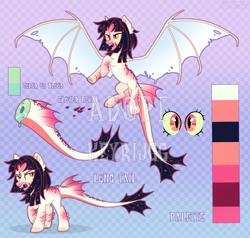 Size: 4200x4000 | Tagged: safe, artist:keyrijgg, oc, dracony, dragon, hybrid, pony, adoptable, art, auction, reference, simple background, watermark