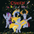 Size: 1024x1024 | Tagged: safe, artist:dashiesparkle, artist:frownfactory, artist:grapefruitface1, discord, starlight glimmer, thorax, trixie, changedling, changeling, album cover, cape, clothes, fireworks, hat, king thorax, limited palette, parody, ponified, ponified album cover, queen (band), rearing, reformed four, trixie's cape, trixie's hat