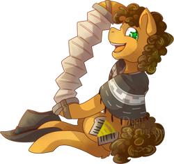 Size: 802x755 | Tagged: safe, artist:dogi-crimson, cheese sandwich, earth pony, pony, accordion, clothes, colored pupils, hoof hold, male, musical instrument, open mouth, poncho, profile, simple background, sitting, solo, stallion, transparent background