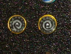 Size: 1280x960 | Tagged: safe, artist:sculpt-renaissance, zecora, craft, cutie mark, ear piercing, earring, jewelry, photo
