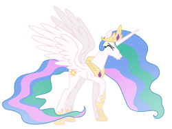 Size: 9670x7240 | Tagged: safe, artist:estories, princess celestia, pony, absurd resolution, show accurate, simple background, sneezing, solo, transparent background, vector