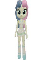Size: 519x720 | Tagged: safe, artist:topsangtheman, bon bon, sweetie drops, equestria girls, 3d, looking at you, simple background, solo, source filmmaker, transparent background