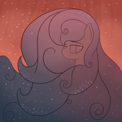 Size: 2750x2750 | Tagged: safe, artist:czu, oc, oc only, unnamed oc, horse head nebula, male, nebula