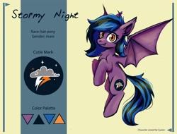 Size: 4096x3113   Tagged: safe, artist:amy-gamy, oc, oc only, bat pony, pony, reference sheet, solo