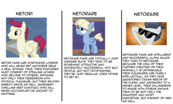 Size: 1062x638 | Tagged: safe, rumble, pegasus, pony, background pony, text