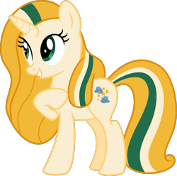 Size: 4029x4000 | Tagged: safe, artist:melisareb, oc, oc only, oc:cloudy glow, pony, unicorn, absurd resolution, cute, female, inkscape, looking up, mare, ocbetes, raised hoof, simple background, smiling, solo, transparent background, vector