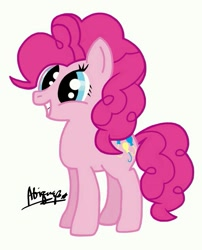 Size: 581x720 | Tagged: safe, artist:sire_merrione, pinkie pie, earth pony, solo
