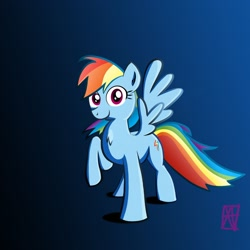 Size: 1280x1280 | Tagged: safe, artist:naen, rainbow dash, pegasus, pony, female, mare, solo