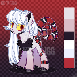 Size: 2000x2000 | Tagged: safe, artist:keyrijgg, oc, original species, pony, snake, snake pony, adoptable, art, auction, simple background, watermark